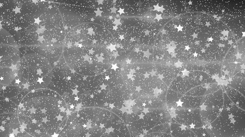 Rebound particle star wht CG動画