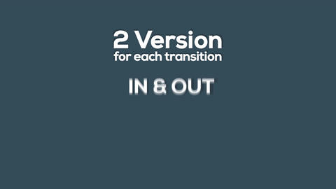30+ Matte Transitions Pack CG動画素材