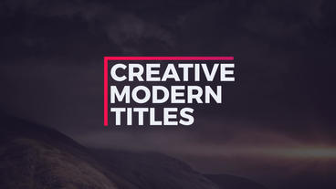 20 Titles Pack After Effects Templates