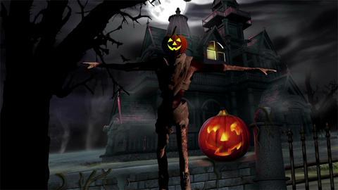Happy Halloween Filmmaterial