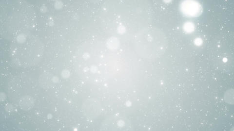 Particles white business clean bright glitter bokeh dust abstract background 画像