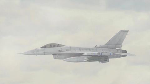 Jet Strike Background Animation