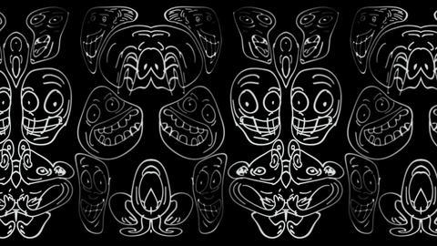 Decorative Faces HD 01 Animation