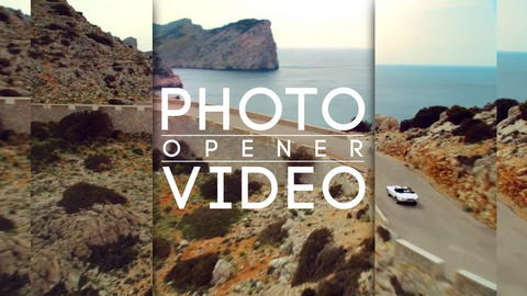 Photo Video Opener After Effects Template