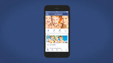 Facebook Mobile Intro - Apple Motion and Final Cut Pro X Template Apple Motion Template