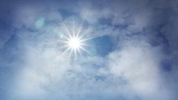 Sunny sky loop Stock Video Footage
