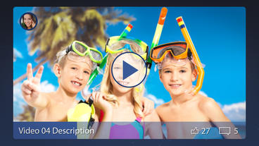 Facebook Slideshow - After Effects Template After Effects Template