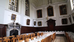 Dining Hall Queen's College Oxford Oxfordshire UK 1d ビデオ