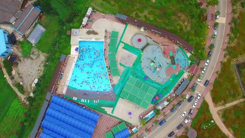 muan lotus flower park pool waterpark Filmmaterial