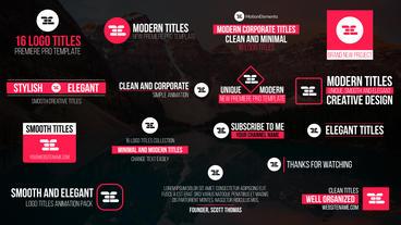 Multipurpose Titles Pack 1