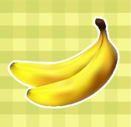 Plaid fabric with bananas Vector