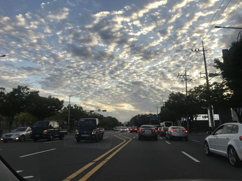sunset clouds フォト