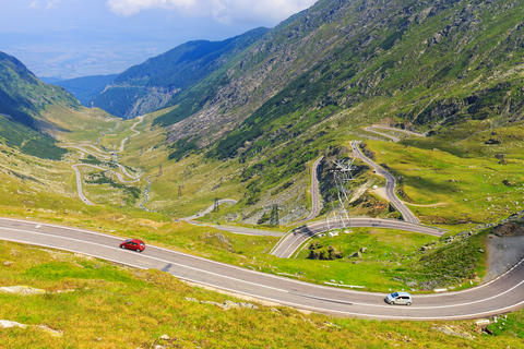 Transfagarasan mountain road, Romanian Carpathians フォト