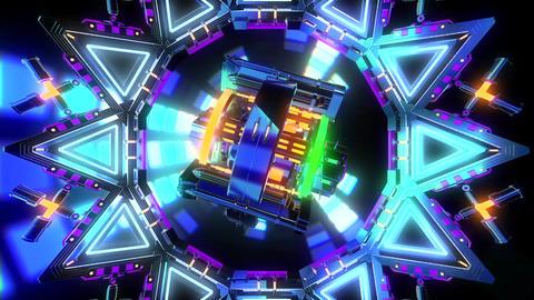 VJ Cosmic Multicolor Abstract Animation