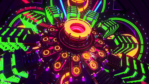 VJ Cosmic Multicolor Abstract3 Animation