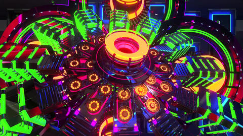 VJ Cosmic Multicolor Abstract5 Animation