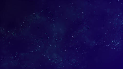 HD Loopable Background with nice blue particles Animation
