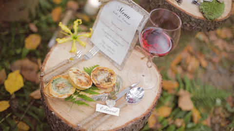 Eco forest wedding wedding table, Live Action