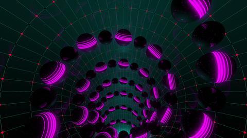 VJ Loops Neon Spheres 0