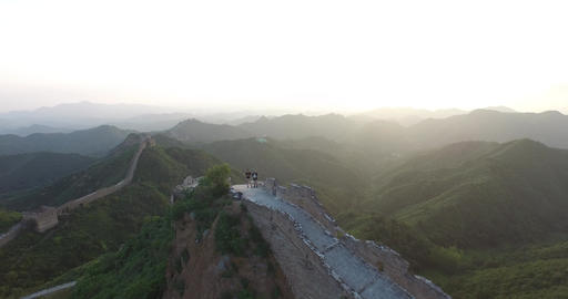 Aerials Of Great Wall ビデオ