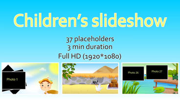 Children's SlideShow After Effects Templates