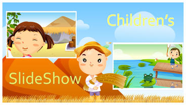 Children's SlideShow After Effects Project