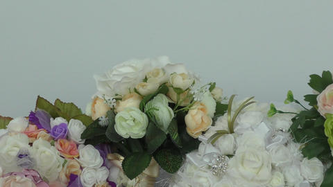 Bouquet for the bride Footage