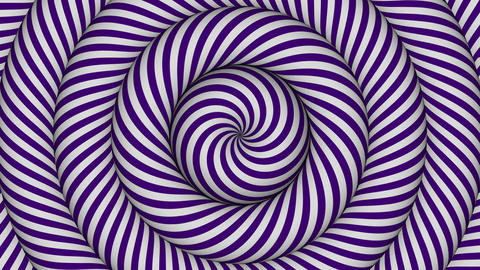 hypnotic background with purple and white concentric circles in motion Animation