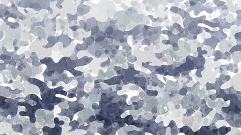 Animated gray camouflage background Animation