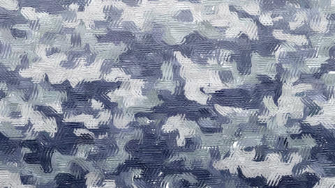 Oil painted gray camouflage background Animation