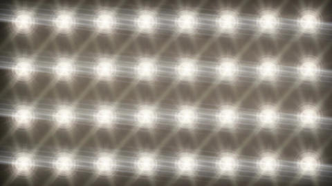 Stadium Spot Flashing Light - Strobe 07 Animation
