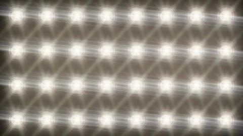 Stadium Spot Flashing Light - Strobe 01 Animation