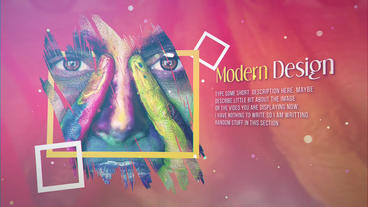 Colorful Life After Effects Templates