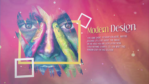 Colorful Life After Effects Template