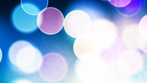 HD Loopable Background with nice bokeh CG動画素材
