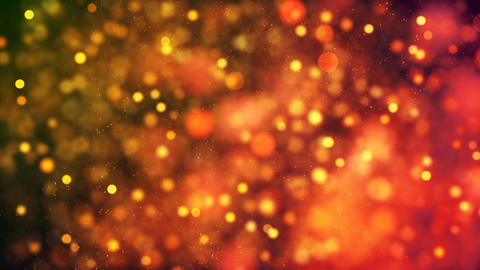 HD Loopable Background with nice golden particles CG動画素材