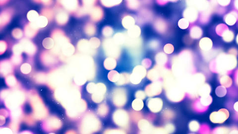 HD Loopable Background with nice glowing bokeh CG動画素材