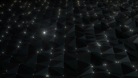 Geometric Wall 3s NB1M Bd 4k CG動画
