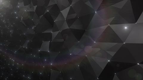 Geometric Wall 3s NCpF Rd 4k CG動画