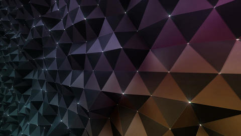 Geometric Wall 3s NCpM Bd 4k CG動画