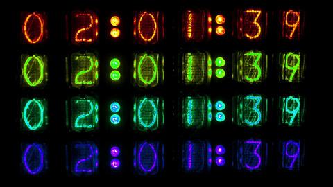 Blinking timer lights Live Action