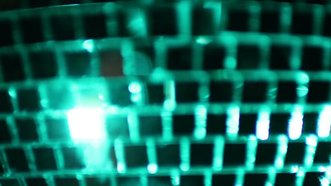 Close up disco ball Footage