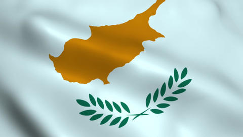 Realistic Cyprus flag Animation