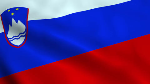 Realistic Slovenian flag Animation