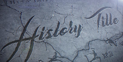 Cinematic Title - History After Effects Template
