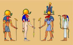 Gods of Ancient Egypt Vector