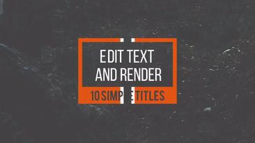 Minimal Titles 3 0