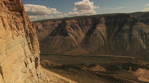 Huge cliffs Footage