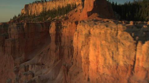 Striated cliffs Footage