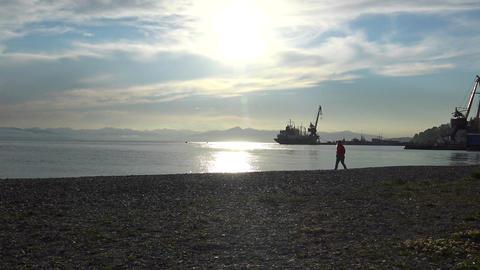Petropavlovsk Kamchatsky. The largest in the world, Avacha Bay. Journey to Footage